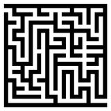 Maze labyrinth Royalty Free Stock Image