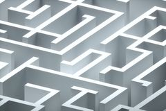 Maze Royalty Free Stock Photo