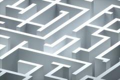 Maze Royalty Free Stock Photo