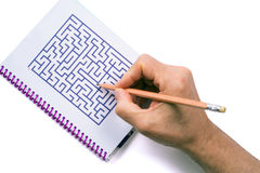 Maze Stock Images