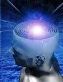 Maze Mind. High resolution 3D illustration Maze Mind Royalty Free Stock Photo