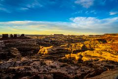 Maze Overlook Sunset Photographie stock