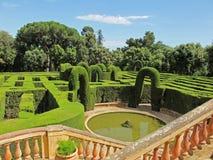 Maze parkerar Royaltyfria Foton