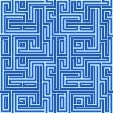 Maze Pattern Royalty Free Stock Photography