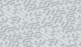 Maze pattern abstract background with labyrinth for poster or wallpaper stock illustration
