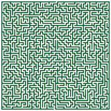 Maze pattern Royalty Free Stock Photo