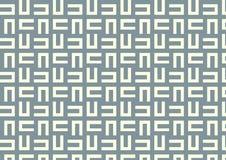 Maze Pattern su colore pastello Fotografia Stock Libera da Diritti