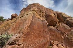Maze Rock Art Site arkivbilder