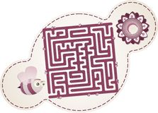 Maze's Bee Royalty Free Stock Photos