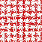 Maze. Seamless pattern. Stock Photography