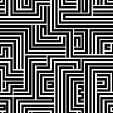 Maze seamless pattern. Royalty Free Stock Images