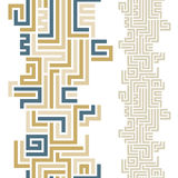 Maze seamless pattern. Royalty Free Stock Image