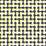 Maze. Seamless pattern. Vector illustration Royalty Free Stock Photo