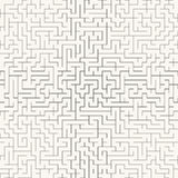 Maze. Seamless vector background. Stock Photo