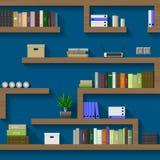 Maze of shelves Stock Photos