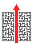 Maze Shortcut Stock Photos