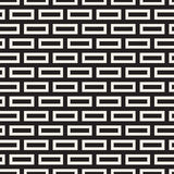 Maze Tangled Lines Contemporary Graphic. Abstract Geometric Background Design. Vector Seamless Pattern. Royalty Free Stock Photos