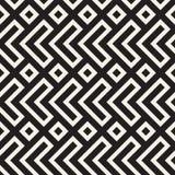 Maze Tangled Lines Contemporary Graphic Conception géométrique abstraite de fond Dirigez la configuration sans joint Images stock
