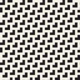 Maze Tangled Lines Contemporary Graphic Configuration noire et blanche sans joint de vecteur Images stock