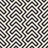 Maze Tangled Lines Contemporary Graphic Diseño geométrico abstracto del fondo Vector el modelo inconsútil Fotografía de archivo libre de regalías
