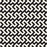 Maze Tangled Lines Contemporary Graphic Diseño geométrico abstracto del fondo Vector el modelo inconsútil Imagen de archivo