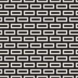 Maze Tangled Lines Contemporary Graphic Progettazione geometrica astratta del fondo Vector il reticolo senza giunte Fotografie Stock Libere da Diritti