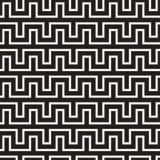 Maze Tangled Lines Contemporary Graphic Progettazione geometrica astratta del fondo Vector il reticolo senza giunte Fotografie Stock