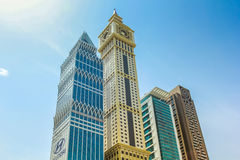Maze Tower Dubai Arkivbild
