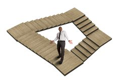 Free Maze With No Exit Stock Images - 52176184