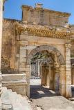 Mazeus and Mithridates Gate, Ephesus, Turkey Royalty Free Stock Image