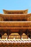 mazhu寺庙 免版税库存照片