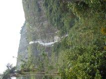 Mazhuvady water falls Stock Images