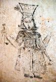 Mazmorras del Inquisition.graffiti Fotografía de archivo libre de regalías