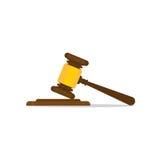 Mazo de madera de los jueces Fotos de archivo