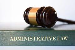 Mazo del derecho administrativo Imagen de archivo