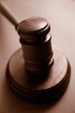 Mazo del juez Imagen de archivo libre de regalías