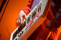 Mazoni, band from Catalonia, performance at Razzmatazz stage Stock Photography