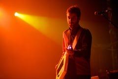Mazoni, band from Catalonia, performance at Razzmatazz stage Royalty Free Stock Photos