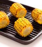 Mazorcas de maíz asadas a la parilla foto de archivo libre de regalías