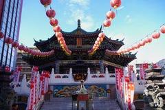 Mazu Miao Temple no bairro chinês de Yokohama Fotografia de Stock Royalty Free