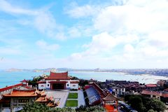 Mazu temple , Tianhou temple , The God of the sea in China. Mazu, the sea goddess belief centered on the southeastern coast of China, is also called the heavenly Stock Photo