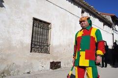 Mazuecos - Botarga La SOLDADESCA SPANJE Royalty-vrije Stock Fotografie