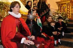 Mazuecos LA SOLDADESCA   SPAIN Royalty Free Stock Photography