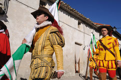Mazuecos LA SOLDADESCA   SPAIN Royalty Free Stock Photos