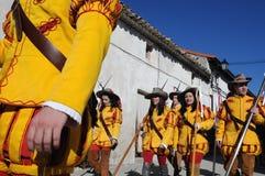 Mazuecos La SOLDADESCA SPANJE Royalty-vrije Stock Afbeeldingen