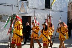 Mazuecos - La SOLDADESCA SPANJE Royalty-vrije Stock Fotografie