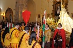 Mazuecos - La SOLDADESCA SPANJE Royalty-vrije Stock Foto