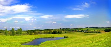 Mazurian landscape Stock Images