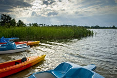 Mazurian landscape, Poland Royalty Free Stock Photo