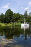 mazury的湖 免版税库存照片